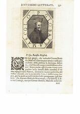 1666 Crasso Ritratto: P. Giovanni Battista Mascolo Gesuita (Napoli 1583-1656)