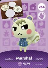Marshal NFC Tag/Coin Amiibo Card Animal Crossing New Horizons! Free Shipping!
