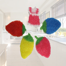 Acrylic Scrubber for Dish, Cookware, Sink, Bathroom, Shower,Kitchen, counter top