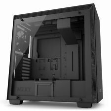 NZXT H700i Black Mid Tower Gaming Computer Case , Tempered Glass Window, USB 3.0