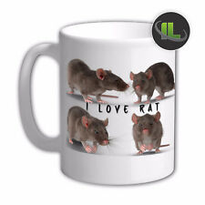 Personalised Mouse Rodent Rat Mug Cup.Customise with your own text. FOC. IL6650