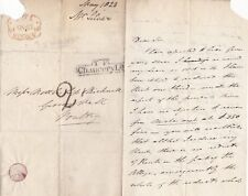 * 1823 TP Chancery Lane London invertito 2 Time Mark T? Argento Lettera al pollame