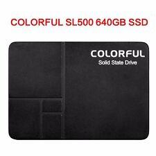 COLORFUL SL500 640GB SSD SATA III SSD Internal Festplatte for Desktop PC 480MB/s