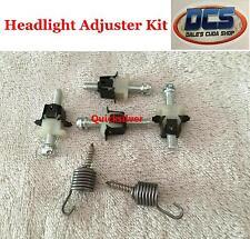 1966 67 68 69 70 71 Dodge Dart 2 Headlight Adjuster & Spring Kit New MoPar