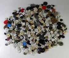 Mixed Buttons Lot Antique Vintage Grab Bag 100s of Buttons