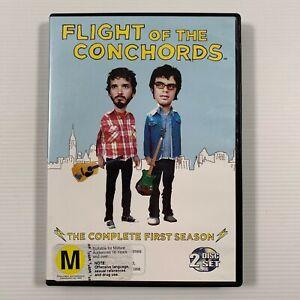 Flight of the Conchords : Season 1 (DVD, 2008, 2-Disc Set) Region 4