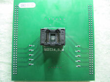 U09633 SOIC16W 300Mil SOP16 Socket Adapter For UP-818 UP-828 Programmer