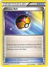 Pokémon n° 89/99 - Dresseur - Niveau Ball