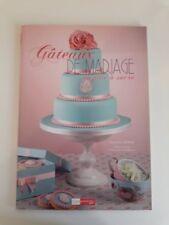 """Livre """"Gâteaux de Mariage """" - pâte à sucre"""