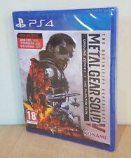 Metal Gear Solid V experiencia definitiva Playstation 4 PAL Reino Unido Nuevo Sellado De Fábrica