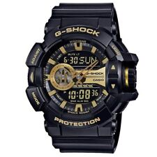 Casio G-Shock GA-400GB-1A9 Black Gold Digital Analog Men's Sports Watch