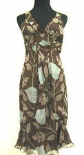 COSTUME NATIONAL Silk Floral Fitted Dress Italian Sz 2 - 4