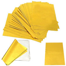 "50 Sheets A4 8""x12"" Gold Laser Printer Hot Laminator Transfer Foil Paper Leaf"