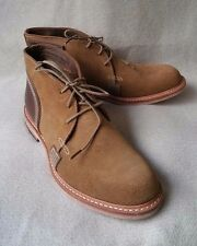 NEW TIMBERLAND BOOT COMPANY USA COULTER CHUKKA Suede SHOES Mens 7M Leather Brown