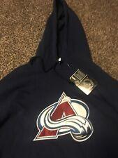 Colorado Avalanche Pull Over Hoodie Size Medium Hockey Nhl Reebok Brand New Tags