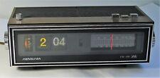 Vintage Soundesign Flip Clock Radio 3480 For Parts or Repair