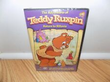 Adventures of Teddy Ruxpin - Return to Rillonia (DVD 2008 2-Disc Set) BRAND NEW