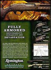 2009 Remington M887 Nitro Mag Shotgun Ad Collectible Gun Advertising