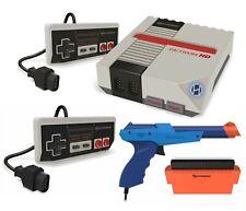 Hyperkin RetroN HD NES Gaming Console 2 Controllers Hyper Blaster HD Light Gun