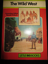 Little Big Books The Wild West by Robin May Vintage SC 1977 Purnell Scarce OOP