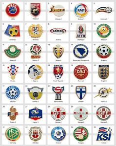 Metal Pin UEFA Union of European Football Associations Federations 1