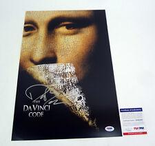 Dan Brown Author Signed Autograph The Da Vinci Code Movie Poster PSA/DNA COA #2