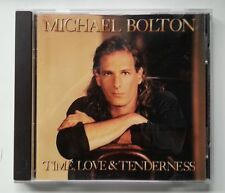 MICHAEL BOLTON - 'Time, Love & Tenderness' CD album 1991 1990s, Pop]