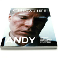CHRISTIE'S MAGAZINE Nov.-Dec. 2012 *ANDY WARHOL COVER* Fred Tomaselli Punk Years