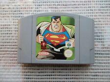 Jeu Nintendo 64 / N64 Game Superman PAL retrogaming original *