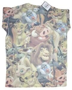 Lion King - All over front print - Ladies size 10 Loose fit lounge tops,t shirt