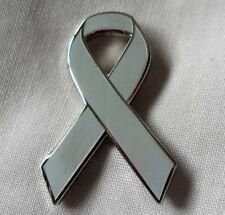 *NEW* Schizophrenia Awareness ribbon enamel badge / brooch. Charity.
