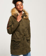 Superdry Womens Rookie Heavy Weather Tiger Parka Jacket