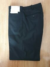 "Uniqlo Relaxed Ankle Length Black Trousers Pantalon Easy Uk Small W27-30"" Box 13"