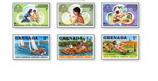 BRC105 Scouting 6 stamps from Grenada