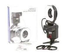 Vivitar Auto Focus Macro Ring Flash 6000 AF C For Canon EOS! Good Condition!