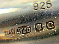 Sterling Silver 925 Pencil - JW - London - 2002
