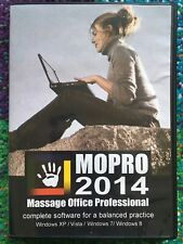 MOPRO 2014 Massage Office Software Medical Practice Software (Windows/PC CD-ROM)