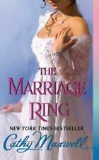 THE MARRIAGE RING CATHY MAXWELL  REGENCY   PAPERBACK  HISTORICAL ROMANCE
