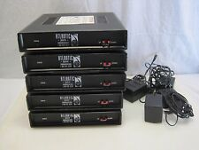 (5) TELink Flash 700a Telephone Message On Hold Systems B6953