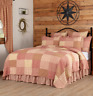 SAWYER MILL RED QUILT -choose size & accessories-Farmhouse Bedding VHC Brands