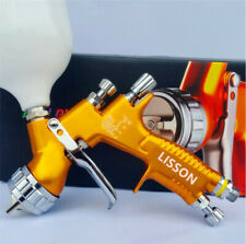 Lisson GTI PRO LITE 1.3mm TE20 Gold Nozzle Tool Pistol Spray Gun Paint Cars