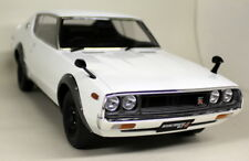 Kyosho 1/12 Scale Nissan Skyline 2000 GT-R KPGC110 White Sealed Resin Model Car