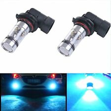2x 100W 8000K 9006 HB4 High Power LED CREE Ice Blue Fog Lights Bulbs w