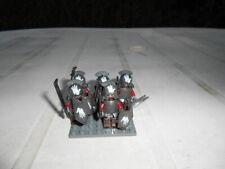 uruk hai seigneur des anneaux 5 fig compatible avec lego