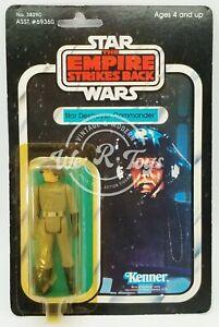 Star Wars ESB Star Destroyer Commander Action Figure 41 Back 1980 Kenner #38290