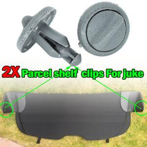 2PC Pair Rear Parcel Shelf Clips Rear Boot Retaining Bracket For Nissan Juke F15