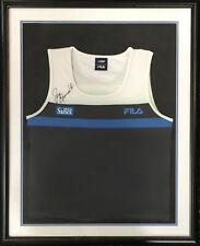 Jennifer Jen Capriati signed FILA UD Open Tennis jersey Shrit Autograph CBM COA