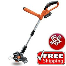 """Cordless 10"""" String Trimmer 20V Lithium Ion Grass Lawn Yard Weed Cutter Edger"""