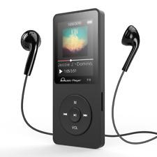 Tragbarer Neu MP3 Player,8GB,FM Radio,80 Stunden Wiedergabe,Headset,Musik HiFi