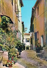 RAMATUELLE la rue des sarrasins timbrée 1974
